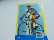 wielerkaart 1994 team mapei glas tony rominger