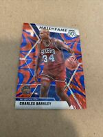 2019-20 Panini Mosaic Charles Barkley Hall of Fame Reactive Blue Prizm Card 🔥