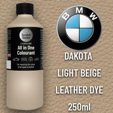 BMW LIGHT BEIGE Leather Dye Car Leather Interior Repair Restore Paint Recolour