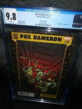 STAR WARS POE DAMERON #18 only 1 of 3 on  cgc consensus graded at 9.8 VARIANT