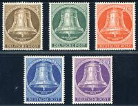 BERLIN 1953, MiNr. 101-105, 101-05, tadellos postfrisch, Mi. 90,-