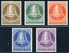 BERLIN 1953, MiNr. 101-105, 101-05, tadellos postfrisch, Mi. 80,-