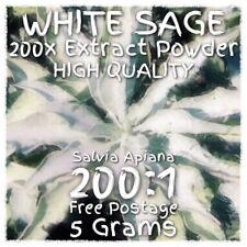 White Sage (Salvia Apiana) 200x Extract Powder [5 Grams]