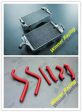 Aluminum Alloy Radiator + Silicone Hose Fit for HONDA CR125R 2-STROKE 2002-2003