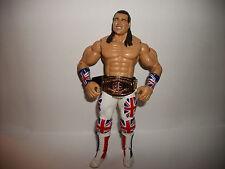 WWE Wrestling Figure Jakks WWF Classic Superstars Legends British Bulldog #1a