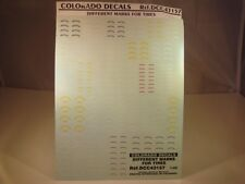 DECALS 1/43 MARQUAGES DIFFÉRENTS PNEUMATIQUES - COLORADO 43157