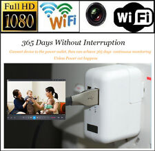 HD 1080P Hidden Spy WIFI Camera MINI Recorder Motion Detection+ USB Wall Charger