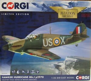 Corgi 1/32 - AA35509 - Hawker Hurricane Mk.1 p 2970