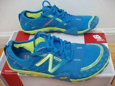New Balance minimus trail running shoes MT10BY2 men 8/women 9.5 blue/neon yellow