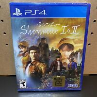 Shenmue I & II [ 2 Games in 1 Pack ] + Poster (PS4) NEW