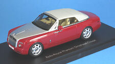 Kyosho 1/43 - Rolls Royce Phantom Drophead Coupe (ensign red) 05532ER