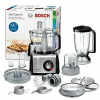 Bosch MC812M844 MultiTalent 8 - Procesador de alimentos / robot de cocina 1.250W