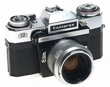 CONTAREX SUPER ZEISS DATA CAMERA PLANAR 2/50mm LENS NR