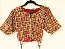 Vintage-tribal-Indian-Blouse-CHOLI-traditional-Folk-