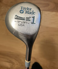 New listing Ladies Right Hand TAYLOR MADE ORIGINAL ONE 12 Degree Driver