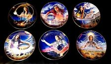 Beautiful Royal Doulton   Franklin Mint Collector Plates native American Indian