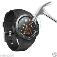 Clear Explosion-Proof Tempered Glass Film Protector Fr Huawei Watch 2 Smartwatch