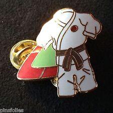 Pin's Folies *** Enamel badge Judo  Limited edition 125 ex.Ceinture Marron