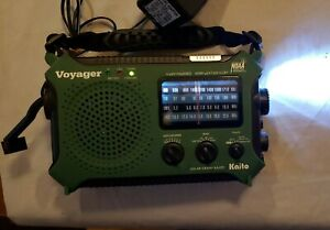 Kaito Voyager Solar Crank Am/Fm Weather Shortwave Radio KA500