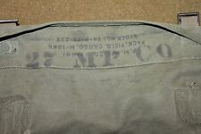 Original Korean War U.S. Army M-1945 (1949) Dated Cargo Pack, ID to 27th MP CO.