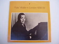 Fats Waller Live in London 1938/39 - LP Record