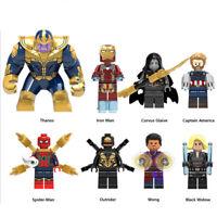 Avengers Super Hero MiniFigures Block Iron Man MiniFigure Kids Toy Gift For LEGO