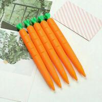 3pcs 0.5mm Cute Carrot Mechanical Pencil Student School Automatic Pen Stationery