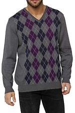 Herren-Pullover & -Strickware aus Wolle mit Karo -/Rauten-Muster