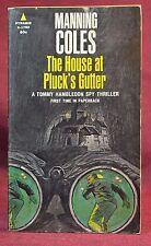 HOUSE AT PLUCKS GUTTER Tommy Hambledon Spy Thriller Manning Coles Pyramid 1968