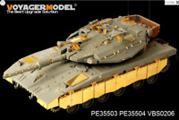 Voyager PE35504 1/35 IDF Merkava Mk.3D MBT side skirts (For MENG TS-001)