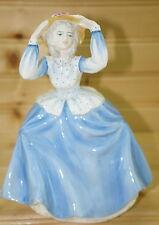 "Coalport LOUISE Ladies of Fashion, Lady Figurine, 7 1/2"""
