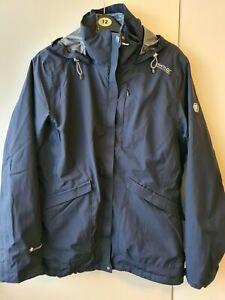 Regatta Navy Womens Lightweight Waterproof Coat & Internal Fleece Set. Size 12