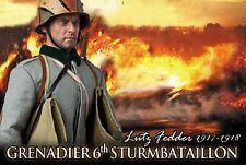 DRAGON DREAMS DID 1/6 SCALE WW I GERMAN LUTZ FEDDER 6th STURMBATAILLON 1917-18