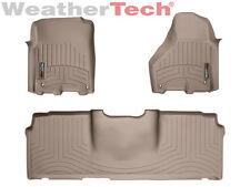 WeatherTech FloorLiner - Dodge Ram 2500/3500 - Mega Cab - 2012-2017 - Tan
