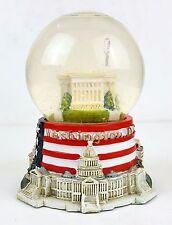 The White House Star Spangled Banner Musical Snow Globe - Washington DC souvenir