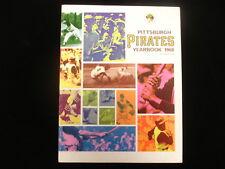 1968 Pittsburgh Pirates Baseball Yearbook