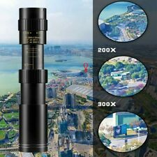 300 Times Monocular Set Super Telephoto Zoom Telescope Wit Tripod And Phone Clip