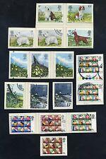 Lot of 49 stamps, Uk, 1979. Scott 851-887 Nine Complete Sets