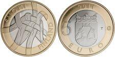 5 EURO FINLANDE 2011 UNC - PROVINCE HISTORIQUE CARELIE