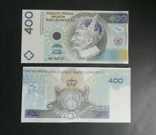 400 ZŁ TEST NOTE PWPW UNC VERY RARE !!!