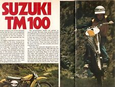 MiniCycle Magazine- Copy Of The 1974 Suzuki TM100 Off Road Test