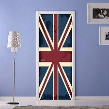 3D British Flag 54 Door Wall Mural Photo Wall Sticker Decal Wall AJ WALLPAPER AU