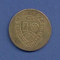 Medaille Sigillum Familie Röhrig Tue Recht und scheue Niemand Ø 30 mm A15/29