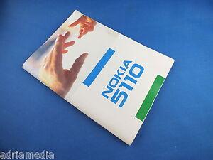 Original Nokia 5110 Anleitung Bedienungsanleitung Benutzerhandbuch Buch wie NEU