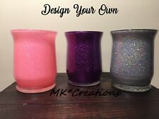 Glitter Makeup Brush Holder-Choose Your Design & Color