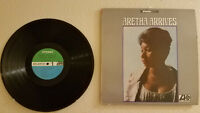 Aretha Franklin Aretha Arrives 1967 Atlantic Stereo LP VG+/VG+ Ultrasonic Clean
