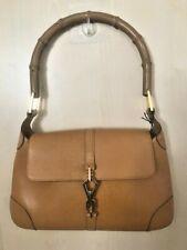Genuine Gucci Vintage Jackie O Bamboo Shoulder/handbag