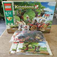LEGO 7188 King's Carriage Ambush - 40% For Parts Incomplete Set