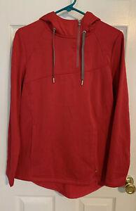 Spyder Myrge Fleece Womens Medium Hoodie Shirt Jacket 568228 Red