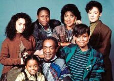 The Cosby Show Cast Colour Poster